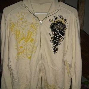 Ed Hardy Jackets & Coats - Ed hardy deaigns jacket